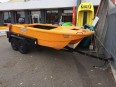 FINN Spindrift 4.2m on trailer.2